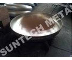 Explosion Bonded 304 Austenitic Stainless Steel Elliptical Clad Head For Evaporator