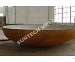 Elliptical Eha Pressure Vessel Clad Head B265 Gr 1 Titanium And Carbon Steel