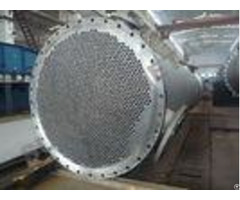 Titanium Clad Shell Tube Heat Exchanger For Propylene Oxide Industry