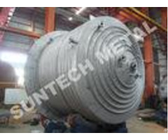 316l Stainless Steel Chemical Processing Equipmentwith Half Pipe