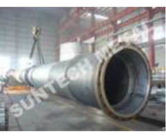 Zirconium 702 Tray Type Column Distillation Tower For Acetic Acid