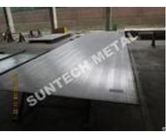 Sb265 Gr 2 Titanium Clad Plate For Flue Gas Desulfurization Fgd
