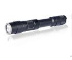 Aluminum Alloy Police Rechargeable Tactical Flashlight For Outdoor Working