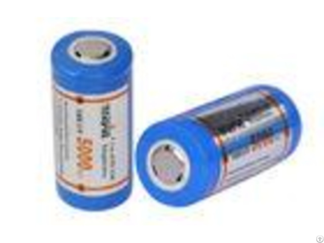 High Capacity 5000mah Lithium Ion Rechargeable Battery For Flashlights