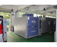 Two Zone Climat Environmental Test Chambers For Car Parts Testing