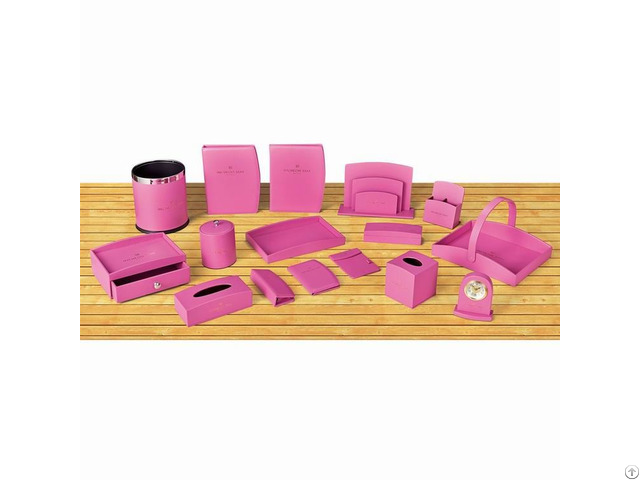 Hotel Supply Guest Amenities In Pink Color