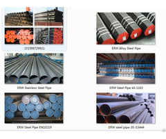 Physical Parameters Of Erw Steel Pipe Jis G3444