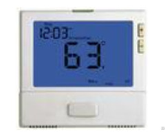 Single Stage 7 Day Programmable Thermostat 24v With Heat Pump