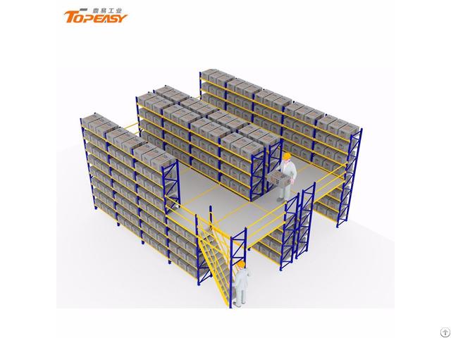 Warehouse Storage Metal Mezzanine Rack