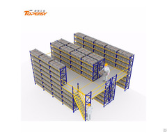 Warehouse Storage Metal Mezzanine Rack