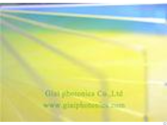 Fused Silica Optical Camera Lens Filters Cold Mirror Coating