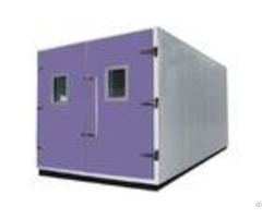 Custom Dimension Walk In Temperature Humidity Test Chamber For Large Components