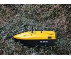 Yellow Mini Remote Control Bait Boat Range 350m Devc 113 Ac110 240v