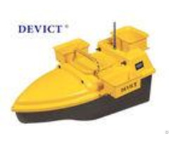 Devc 203 Rc Fishing Bait Boat Yellow Abs Plastic 4 5 Class Wave Resistance