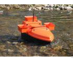 Radio Controlled Bait Boat Devc 202 Orange Abs Engineering Plastic