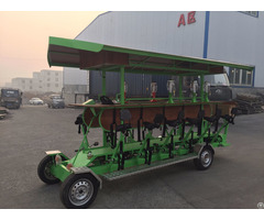 Person 4 Wheel Pedal Party Beer Bike For Sale
