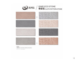 China Origin Factory Personalzied And Customized Soft Stone Tiles