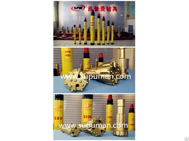 Dth Hammer Alloy Steel Bit For Sale