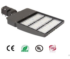 150w Led Pole Light 130lm Watt Eco Firendly For Parking Lot