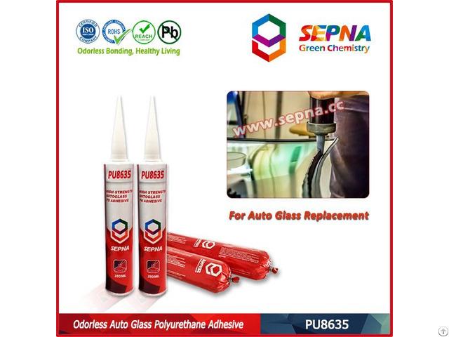 No Odor Polyurethane Auto Glass Sealant Pu8635