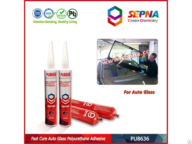 Fast Curing Automotive Windscreen Sealant Pu8636