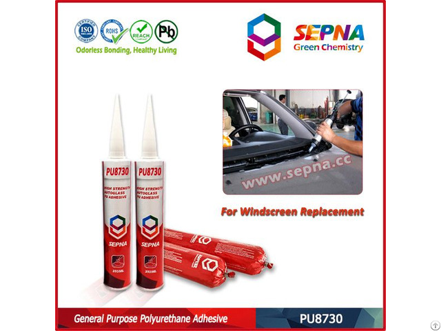 Auto Glass Windscreen Replacement Adhesive Sealant Pu8730