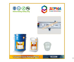 Two Part Transparent Epoxy Encapsulating Compounds Se2208