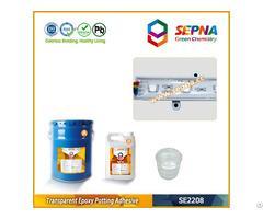 Two Part Transparent Epoxy Encapsulating Compounds Se2208