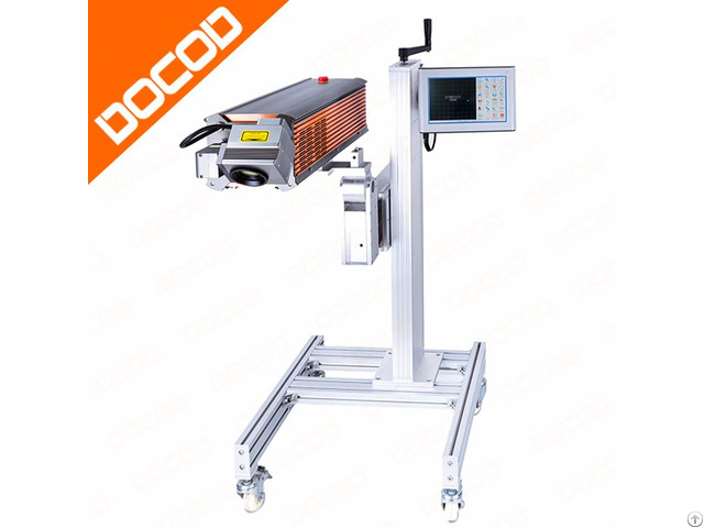10w 30w 60w Docod X Series Co2 Laser Marking Machine For Wood Bamboo Glass Ceramic