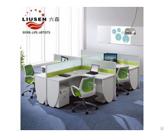 Elegant And Environmental Friendly Office Workstation Green Ls201402