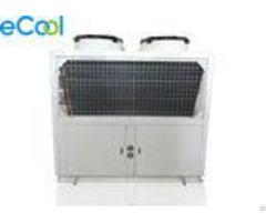 30hp Bitzer Compressor Freezer Condensing Unit With Air Cooled Cooper Tube Condenser