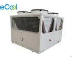 10kw 100kw Piston Compressor Condenser Unit Low Temp For Industry Freezer