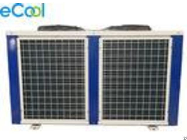 Bitzer Air Cooled Cooper Tube Compressor Condensing Unit 5hp Low Temperature
