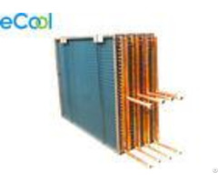Custom Air Cooled Evaporator Used Copper Tube Hydrophilic Aluminum Fin Coil