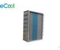 Custom Copper Tube Air Cooled Aluminum Fin Evaporator Coil For Cold Storage