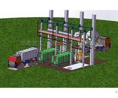 Underground Vertical Waste Transfer Station System
