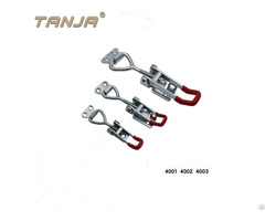 Tanja 4005 Stainless Steel Heavy Duty Latch Type Toggle Clamps