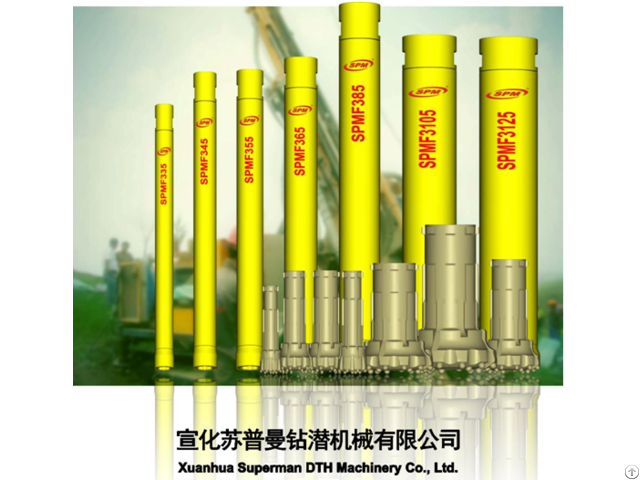 Reverse Circulation Dth Hammer For Drilling And Exploration