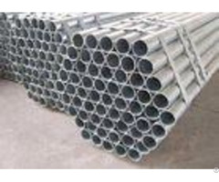 Hot Dipped Seamless Galvanized Steel Pipeastm A53 Material Zinc Coated Surface