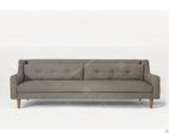 High Density Foam Furniture Sofa Set Lounge Small U Shaped Sectional Simple Style