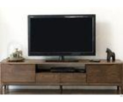 Long Hotel Tv Cabinet Walnut Solid Wood Frame Modern Style 1800 4 00 480