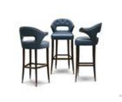 Italy Contemporary Commercial Bar Furniture Upholstered Counter Stools Eco Friendly