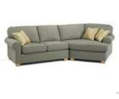 Sleeper Couch Gray Living Room Sofa Set Poly Linen Highly Endurable Customized