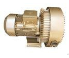 Double Stage Side Channel Blower Central Regenerative Vacuum Pump 7 5kw High Volume