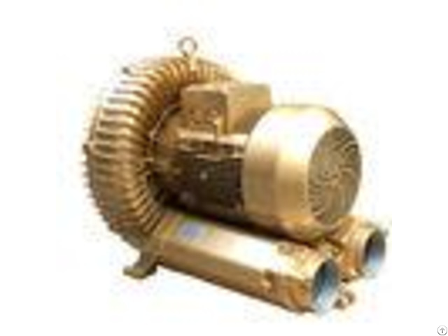 Pneumatic Conveying Regenerative Air Blower Goorui Vacuum Pump Golden Color