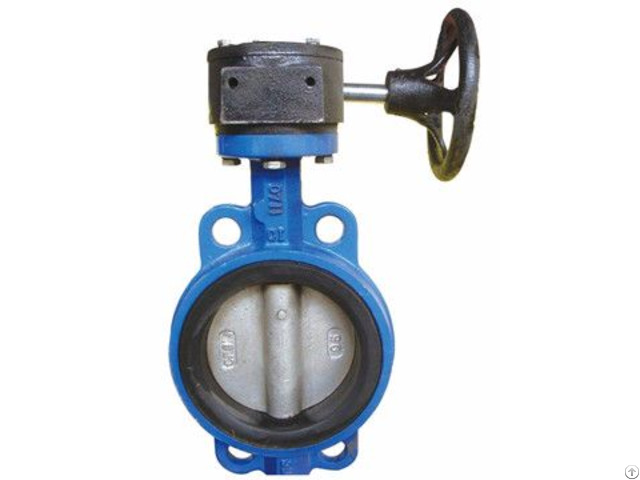 Jis Astm Gost Bs Flange Welding Wafer Butterfly Valve