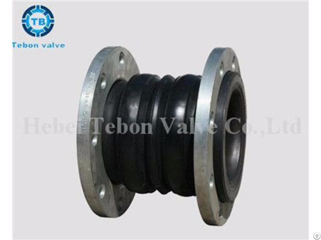 Flanged Rubber Expansion Flexible Joints Compensator Dn2