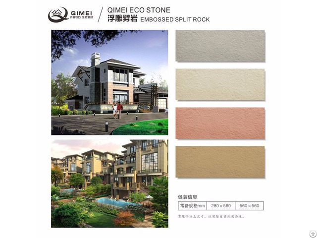 Permanent Wall Decoration Soft Stone