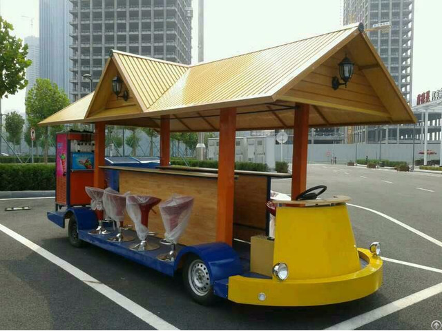 Mobile Bar Electric Sightseeing Cycle Pub For Sale Ice Cream