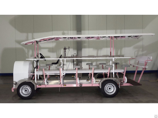Mobile Bar Brew Tours Electric With Pedal Assit Party Pub Beer Bike